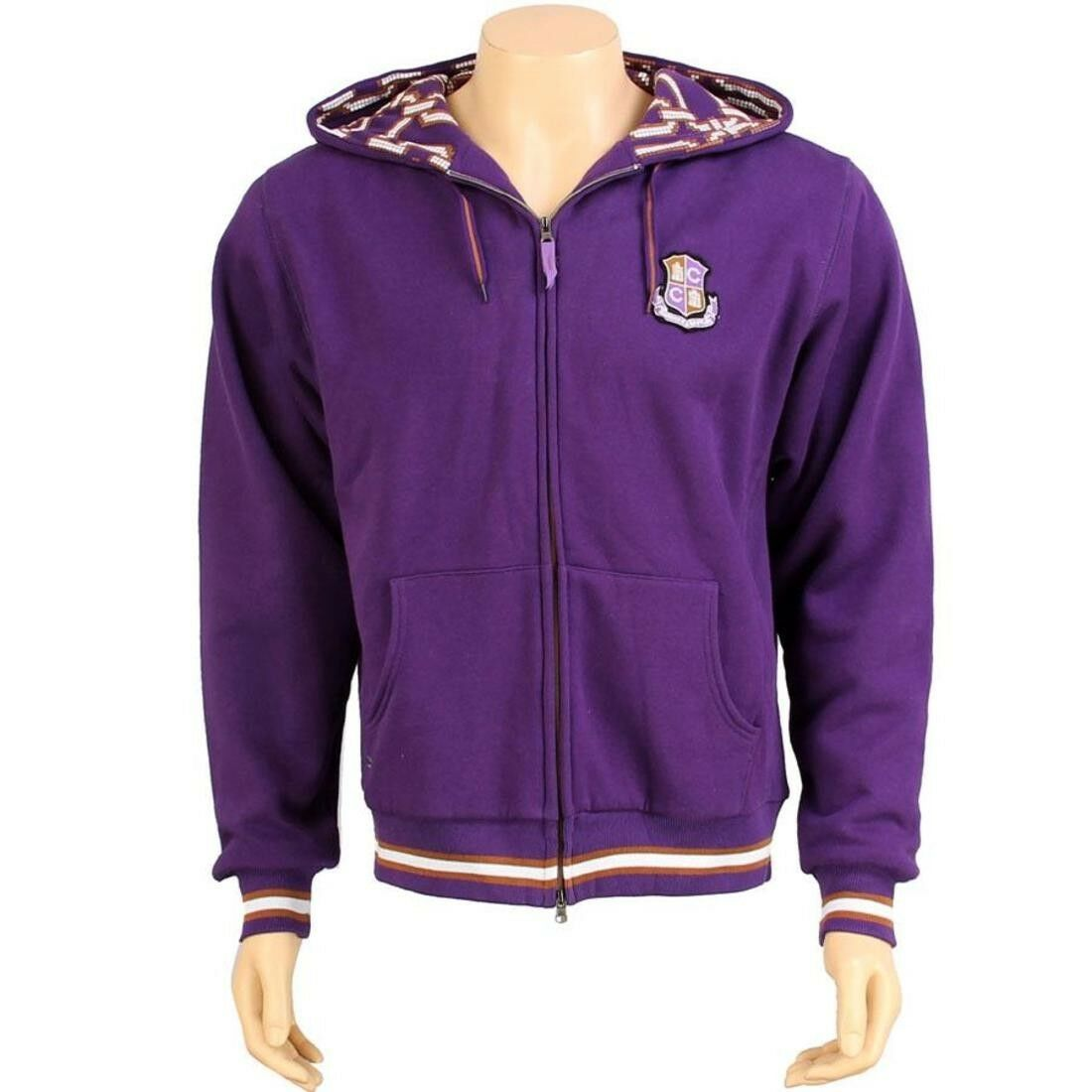 109.99 Crooks and Castles Royale Zip Hoody (lila) CCROYALEZIPHOODPUR