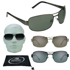6345b285fb Mens Big Tall Aviator Sunglasses XLarge Size Big Heads XL Metal ...
