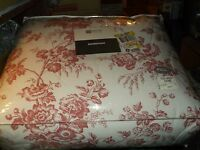 Nip Jc Penney Home Collection Bedspread Full 102 X 113 Inch Beautiful