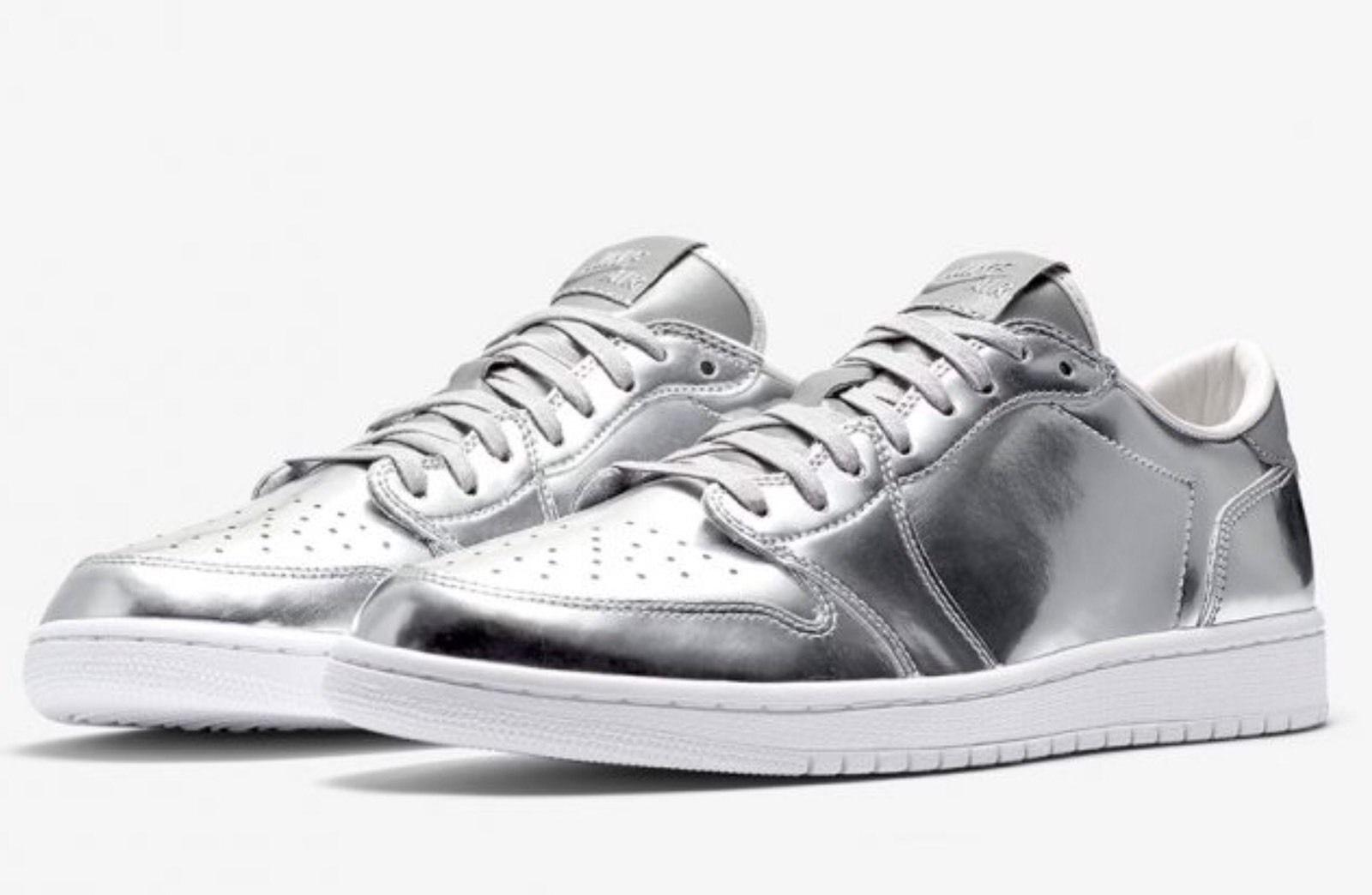 Nike Air Jordan Retro 1 Low OG Pinnacle Comfortable  Casual wild