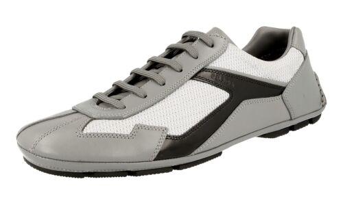 Scarpe grigio Sneaker 5 4e2791 Nuovo Prada 8 lusso argento Monte Carlo 42 di 42 gqBrpwg