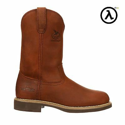 GEORGIA WELLINGTON FARM AND RANCH PULL-ON BOOTS G5814 * ALL SIZES - (M/W 7-14)