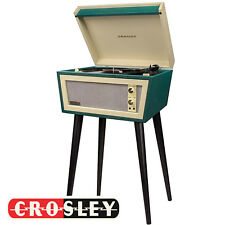 Crosley Sterling Cr6231d-gr Bluetooth Record Player Turntable Cream Green