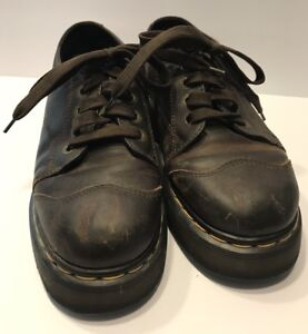 Dr-Martens-Women-s-Oxfords-Shoes-Size-US-6-Brown-Leather-England