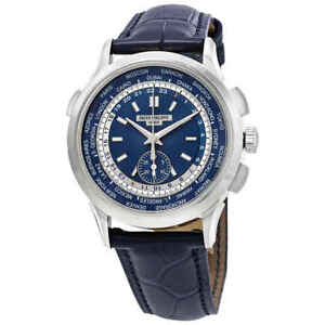 bc3d40002a7 Image is loading Patek-Philippe-Complications-Blue-Dial-Automatic-Men-039-