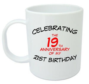 Image Is Loading Celebrating 40th Mug Birthday Gifts Presents For