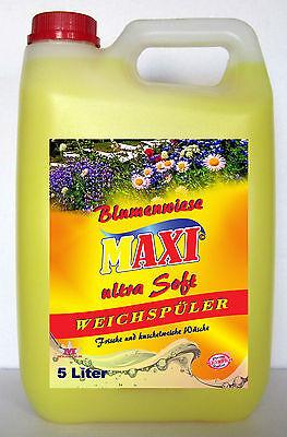 Mutig 4 X 5liter Weichspüler Blumenwiese *kostenloser Versand* Im Sommer KüHl Und Im Winter Warm