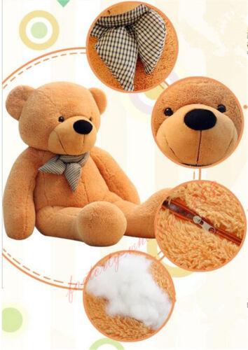 "24/"" Giant Huge Brown Teddy Bear Plush Soft Doll Big Stuffed Animal Toy Kid Gift"