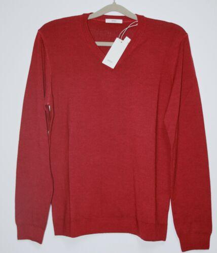 taglia Vico etichetta Mens 58 Nuovo Sportive con Brax Amarena Sweater pXvWxndPz