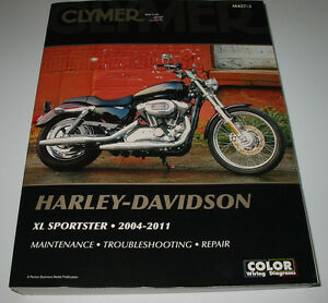 Repair-Manual-Harley-Davidson-XL-Sportster-2004-2011-Maintenace-Troubleshooting