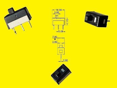 Knitter-Switch cursor einpoliger Act/Des interruptor 3a 28vdc 10x