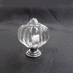 10pcs Plastic Cabinet Handle Knob Pumpkin Style Drawer Knob Dress Knob Handle Qualité Et Quantité AssuréE