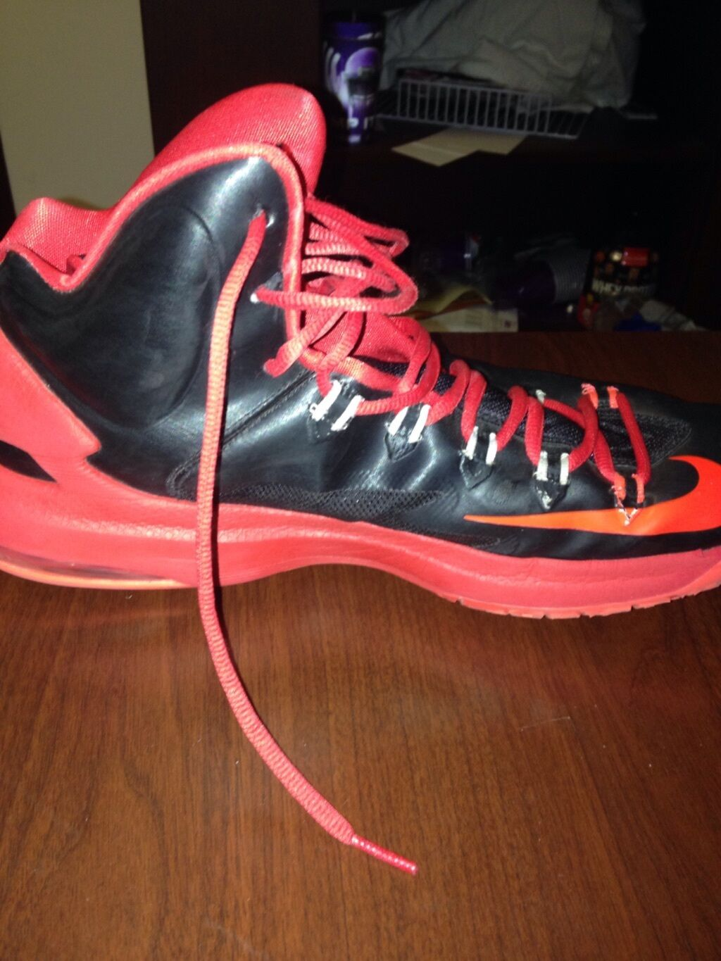 Nike Zoom KD V black/bright crimson red Seasonal price cuts, discount benefits