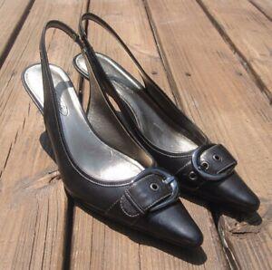 circa joan and david black pumps