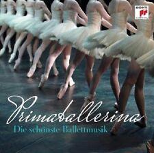 PRIMA BALLERINA-DIE SCHÖNSTE BALLETTMUSIK  CD  12 TRACKS KLASSIK  NEU