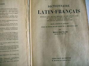 dictionnaire-LATIN-FRANCAIS-Emile-chatelain