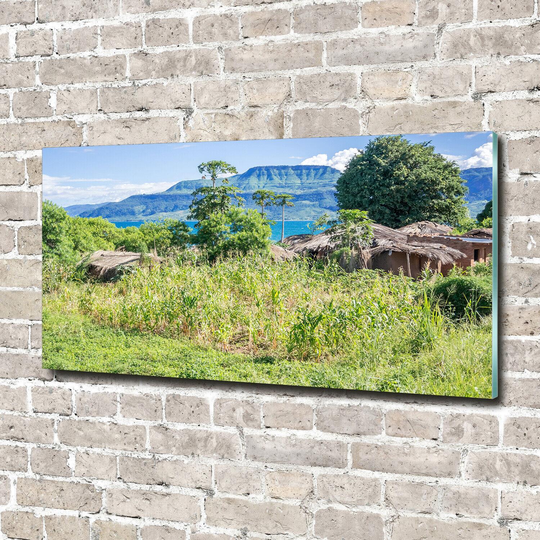 Acrylglas-Bild Wandbilder Druck 140x70 Deko Landschaften Malawisee