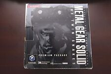 Nintendo GameCube console Metal Gear Solid Premium Pack boxed JP system US selle