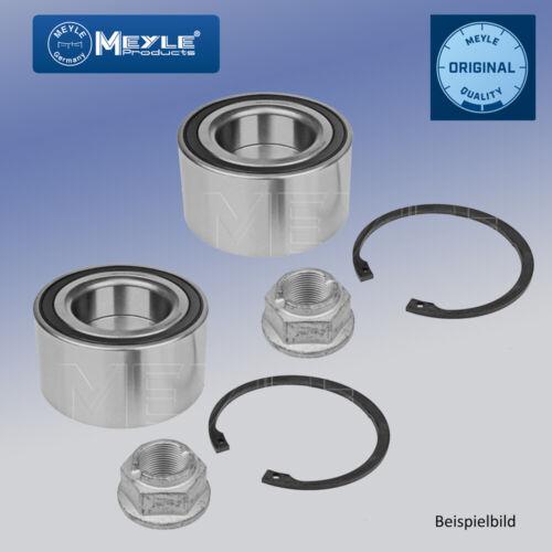 2x Radlagersatz für Radaufhängung Vorderachse MEYLE 100 498 0237