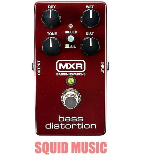 MXR Dunlop M85 Bass Distortion Effects Pedal Silicon Diodes M-85 OR BEST OFFER