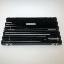 Starrett 1 12 Inside Micrometer Set Machinist Machine Shop Tools Usa
