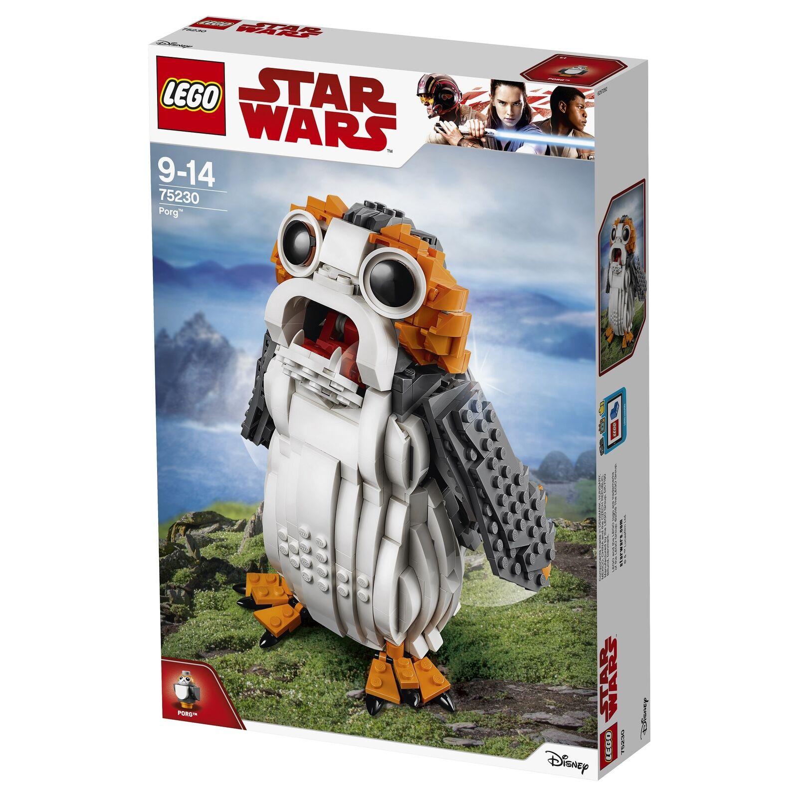 Lego Star Wars 75230 Porg NOUVEAU & NEUF dans sa boîte