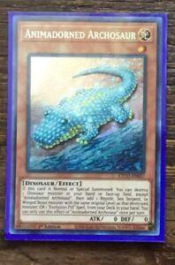 Animadorned Archosaur ETCO-EN037 Secret Rare 1st Edition NM YUGIOH
