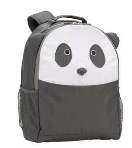 Pottery Barn Kids World Panda Bear Critter Large Backpack