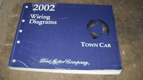 2002 LINCOLN TOWN CAR Electrical Wiring Diagrams Troubleshooting Manual EWD