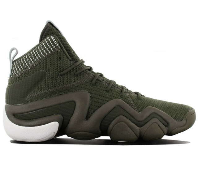 sports shoes f7291 16293 Adidas Crazy 8 Adv Pk Primeknit Mens Shoes Baketball Shoes Green BY3604 New