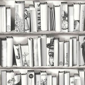 Image Is Loading NEW MURIVA BOOK SHELF CASE PATTERN LIBRARY VINTAGE