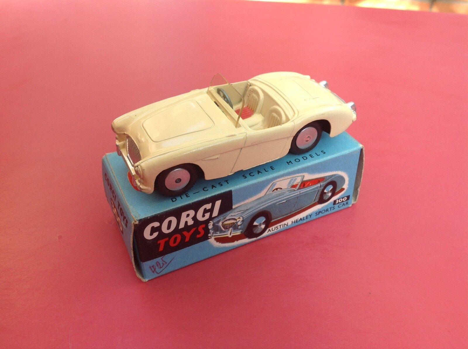 Corgi Corgi Corgi Toys REF 300 Austin Healey near Mint in original box 452a86
