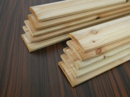 10 Holzlamellen Kiefer 1780x95x17mm Holzbretter Bretter Holzbrett Holz Brett