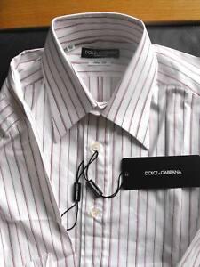 Slim 15 Gabbana Dolce 39 Fit Bnwt Camicia 5 UpdqBawUx