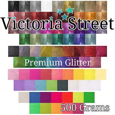Victoria Street Brillo 500g en Holográfico-vidrio Arte Mod Podge compatible
