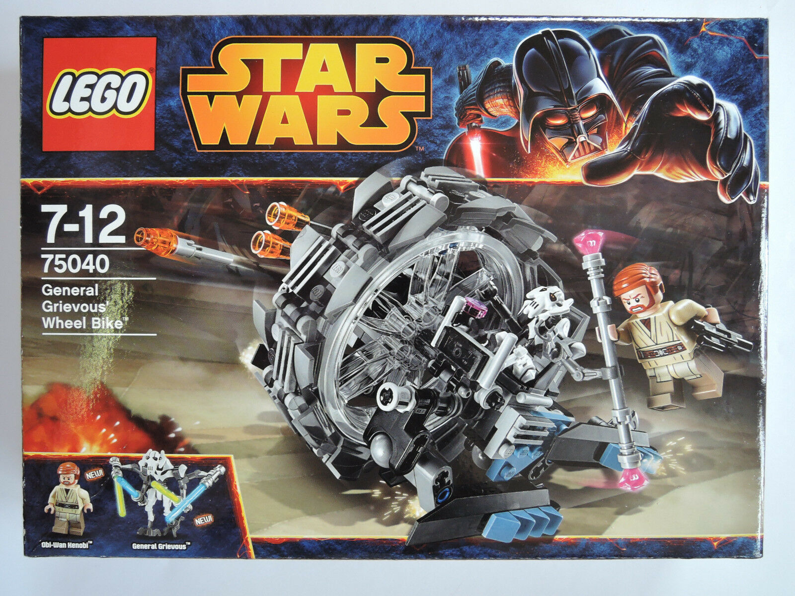 LEGO Star Wars 75040 - General Grievous Wheel Bike   kpl.  OVP  TOP