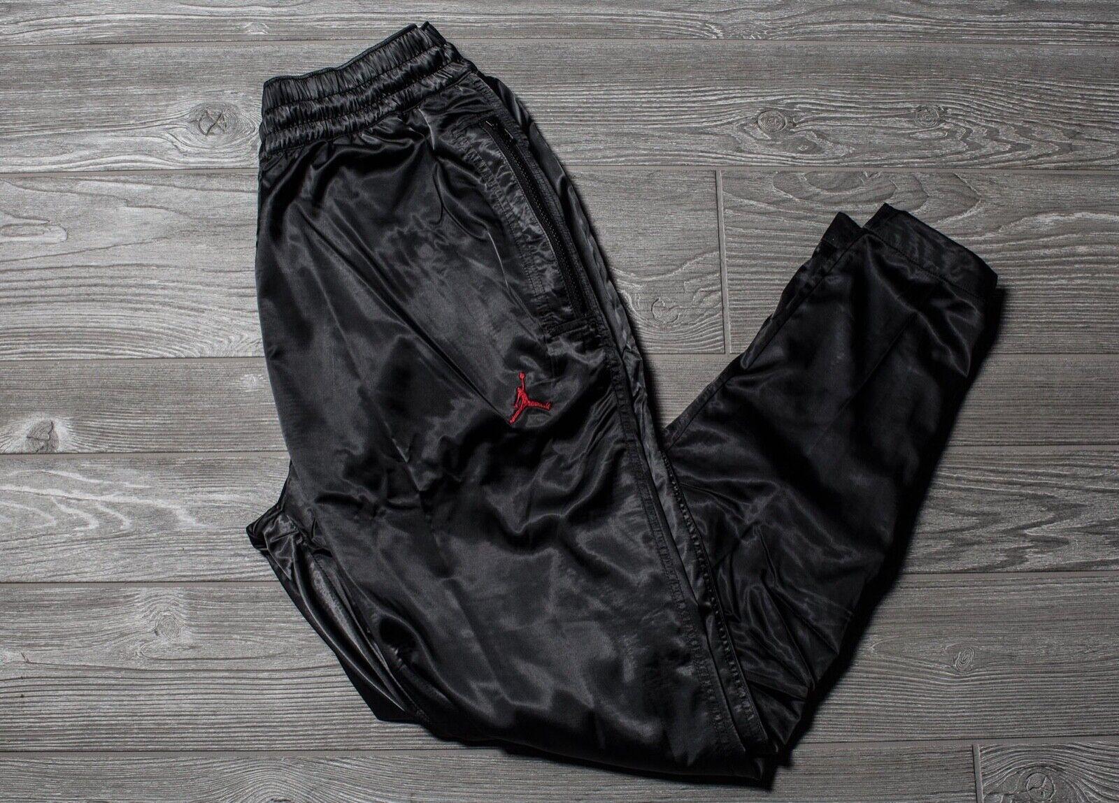 Men's Air Jordan Sports Wear AJ5 Satin Sweat Pants Athletic Fashion AR3137 010
