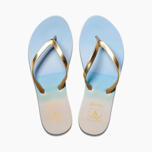 87ae18c4b1cd Reef Womens Sandals Stargazer X CORONA Beach Size 7 for sale online ...