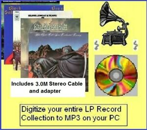 COPY VINYL LP RECORDS & TAPES TO CD MP3 Xmas Gift for Dad on Windows platforms