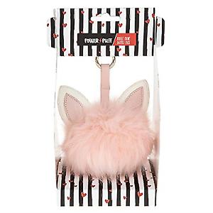 Novelty Pink Cat Pom Pom Portable