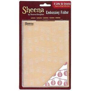 "Sheena Douglass Day of the Dead Embossing Folders 5/"" x 7/"" CLEARANCE"