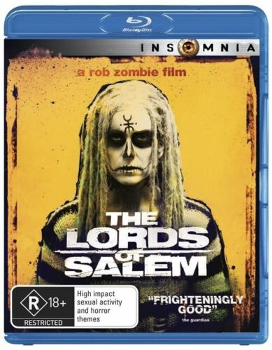 1 of 1 - The Lords Of Salem (Blu-ray, 2013) a Rob Zombie Film
