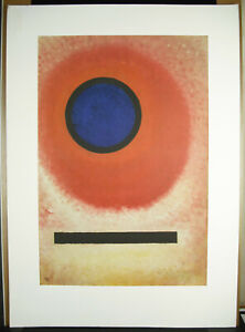 Print-Art-Modern-Geometric-Abstract-Abstract-78cm-c1970-Artist-in-Determi
