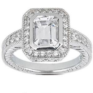 2-01-ct-Emerald-cut-Diamond-Halo-Engagement-Wedding-Ring-SI1-clarity-100-Natural