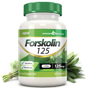 Forskolin-125-125mgHigh-Strength-Weight-Loss-30-Capsules-Evolution-Slimming
