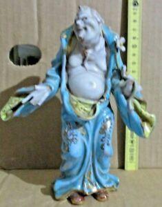 statuetta ceramica GENIO ORIENTALE - PROF. E. PATTARINO ITALY anni 30 originale
