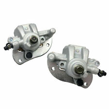 FRONT LEFT RIGHT BRAKE CALIPER w//PADS FOR Yamaha GRIZZLY 450 YFM450 4X4 2007-14