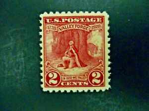 USA-1928-02-645-Valley-Forge-Issue-MNH-See-Images-amp-Description