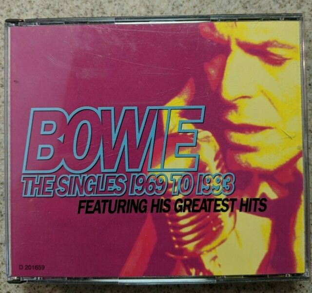 The Singles Collection by David Bowie (CD, Nov-1993, 2 Discs)