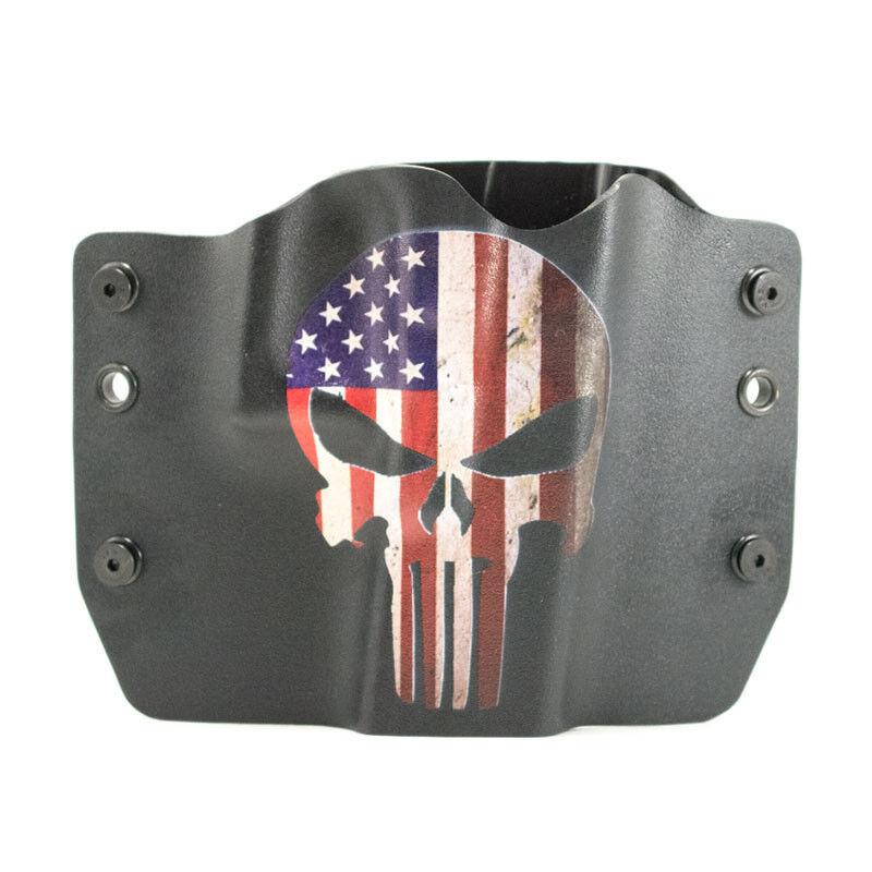 1911, Beretta, Bersa, Browning, Punisher USA, OWB Kydex Gun Holsters